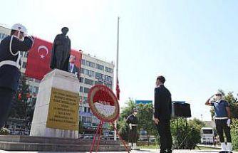 Siirt'te 19 Eylül Gaziler Günü törenle kutlandı