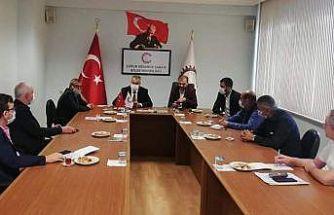 AK Parti İl Başkanı Ahlatçı, sanayicileri dinledi