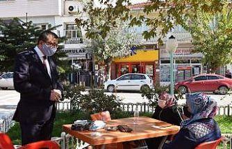 Başkan Öz, vatandaşlarla bir araya geldi