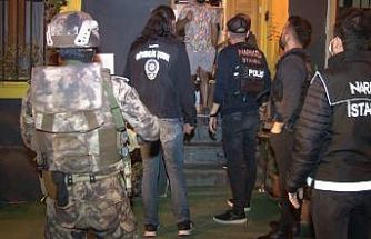 Beyoğlu'nda uyuşturucu tacirlerine 'Çukur' operasyonu