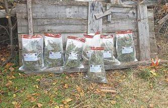 Çankırı'da 4 kilogram esrar ele geçirildi