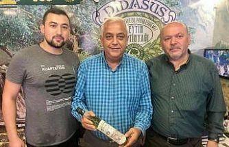 Edremit zeytinyağları Arjantin'den ödül ile döndü