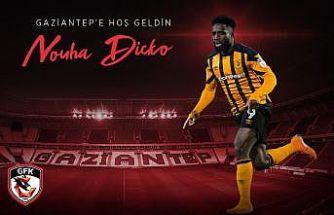 Forvet Nouha Dicko, Gaziantep FK'da