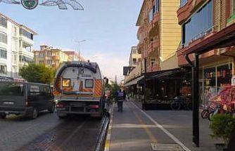 Iğdır şehir genelinde temizlik ve hijyen çalışması