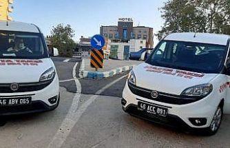 """Kahramanmaraş'ta """"hasta taksi"""" uygulaması"""