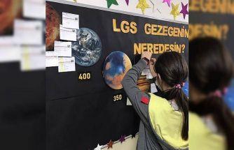 LGS gezegeninde neredesin? etkinliği yapıldı