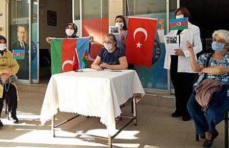 Nazilli'nin ilk kadın derneğinden Azerbaycan'a destek