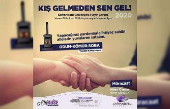 Safranbolu Belediyesi 'Kış Gelmeden Sen Gel' kampanyası başlattı