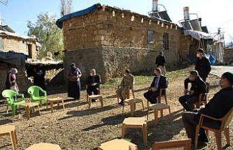 Kaymakam Yelek'ten köy ziyareti