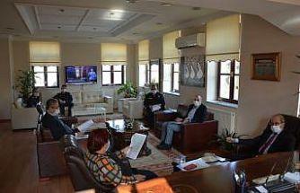 Kuşadası İlçe Umumi Hıfzıssıhha Kurulu toplantısı gerçekleştirildi