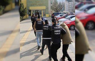 Tokat'ta torbacı operasyonu: 3 tutuklama