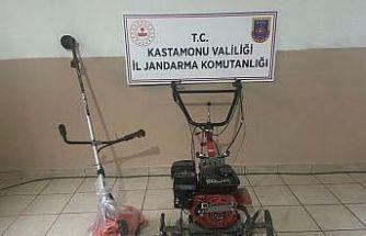 Tosya'da bağ evinden motor çalan hırsız JASAT ekiplerince yakaladı