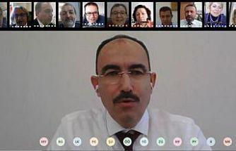 İşbirliği toplantısı, telekonferans yöntemi ile yapıldı