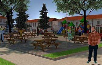 Osmaneli'ne yeni bir çocuk parkı ve iş hanı yapılacak
