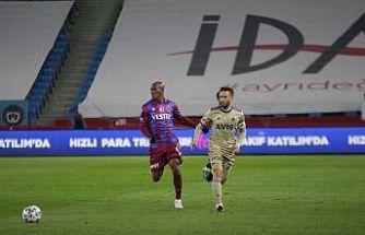 Süper Lig: Trabzonspor: 0 - Fenerbahçe: 0 (Maç devam ediyor)