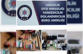 Yalova'da 2 hırsızlık zanlısı yakalandı