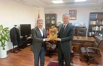 Cizre TSO Meclis Başkanı Yıldırım, Türkiye'nin Erbil Başkonsolosu ile görüştü