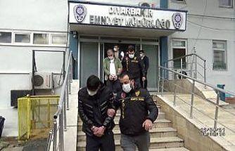 Hırsızlık eylemlerine katılan 14 şüpheliden 3'ü tutuklandı