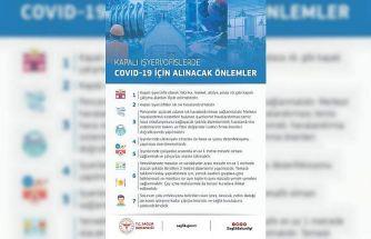 """Sağlık Bakanlığı'ndan, """"İşyeri/ofislerde Covid-19 için alınacak önlemler"""" açıklaması"""