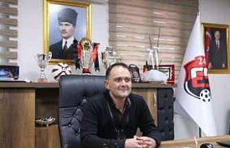 24Erzincanspor Kulüp Başkanı Keleş, sezonu değerlendirdi