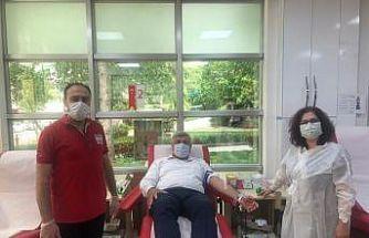 Büyükşehir Zabıtadan kan bağışına destek