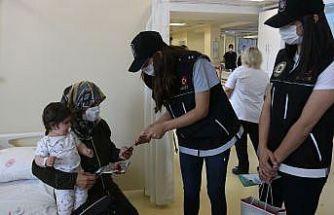 Diyarbakır polisi anneleri unutmadı
