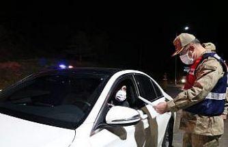 İl Jandarma Komutanı bizzat uygulamaya katıldı
