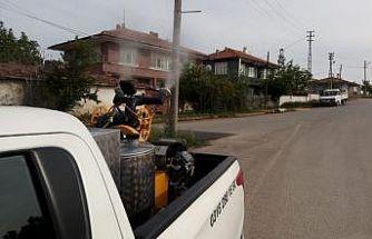 Kırıkkale'de vektörle mücadele sürüyor