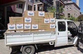 Türkeli'de ihtiyaç sahiplerine gıda yardımı
