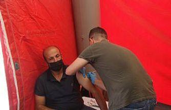 Kilis'te toplam 53 bin aşı yapıldı