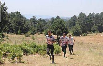 Cuma Ekici, Oryantiring Milli takım kampına katıldı