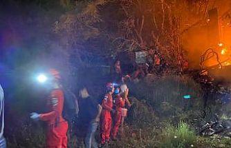 AKUT, Aydın Bozdoğan'daki orman yangını söndürme çalışmalarına katıldı