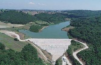 Tekke göleti inşaatı devam ediyor
