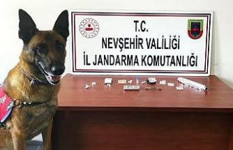 Uçhisar'da uyuşturucudan yabancı uyruklu 16 kişi yakalandı