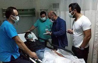 15 yaşındaki çocuk bıçaklı saldırıda hastanelik oldu