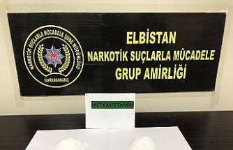 Elbistan'da uyuşturucu operasyonu: 2 şüpheli tutuklandı