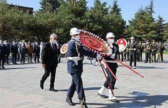 Erzincan'da 19 Eylül Gaziler Günü törenle kutlandı