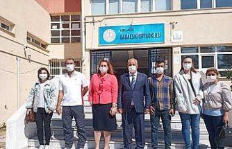 İl Milli Eğitim Müdürü Kalkan Babaeski'de incelemelerde bulundu