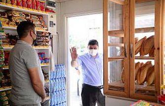 Kahramankazan Belediye Başkanı Oğuz esnaf ziyaretlerini sürdürüyor
