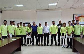 Sel felaketinde görev yapan Diyarbakır ANDA ekiplerine teşekkür belgesi verildi