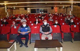 Sivil Savunma Uzman ve Amirleri Eğitimi düzenlendi