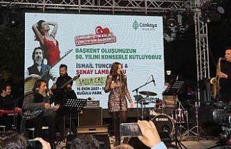 Ankara'nın başkent oluşunun 98'inci yılı kutlamalarında saz ile caz buluştu