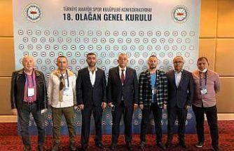 ASKF Düzce Başkanı Bıyık yeniden TASKK Yönetiminde