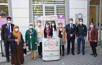 Aydın Atatürk Devlet Hastanesi'nde meme kanserine dikkat çekildi