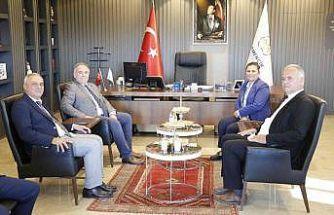 Başkan Çerçioğlu, Germencik Belediye Başkanı Öndeş ile bir araya geldi