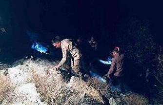 Bayburt'ta otomobil dereye uçtu: 1 ölü, 1 yaralı