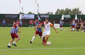 Efsaneler Kupası ile futbol efsaneleri Antalya'da
