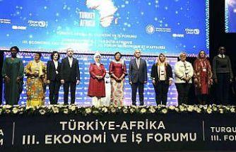 Emine Erdoğan: ''Afrika ile ekonomik ilişkilerimizde önemli bir yol kat ettik''
