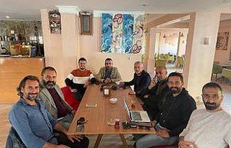 Iğdır'da gazeteciler bir çatı altında toplandı