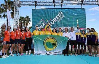Körfez Kupası Deniz Küreği Yarışları'nda İzmit Sümerspor fırtınası esti
